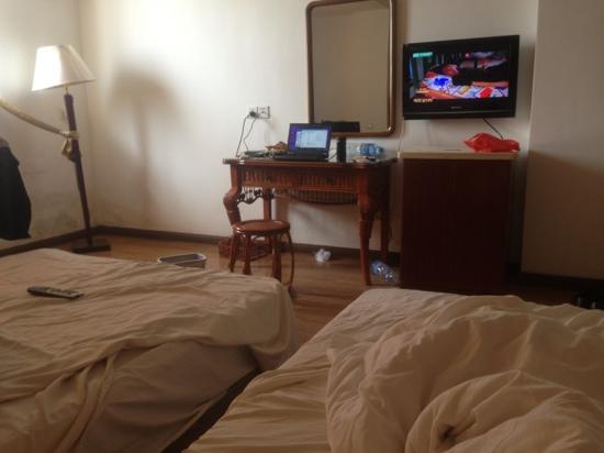 Xilong Business Hotel: 房间味道