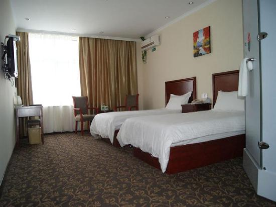 GreenTree Inn Huaibei Normal University Express Hotel: 客房