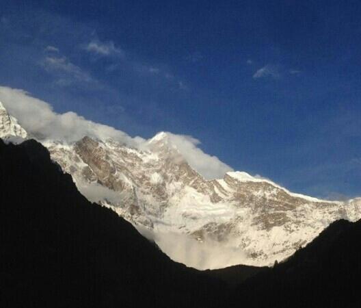 Mt. Qomolangma Nature Reserve: 巍峨