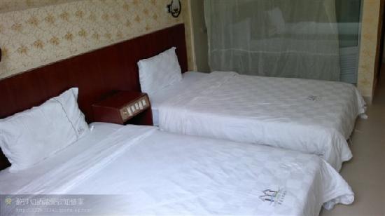 Li Jing Gulf Hotel: 背海双人房