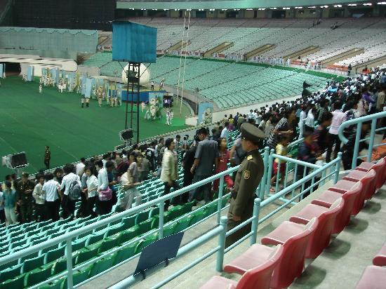 Kim Il Sung Stadium: 体育场