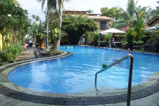 Flower Garden Hotel: 酒店泳池