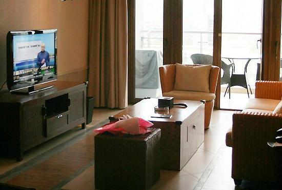 Serenity Coast Resort Sanya: 客厅