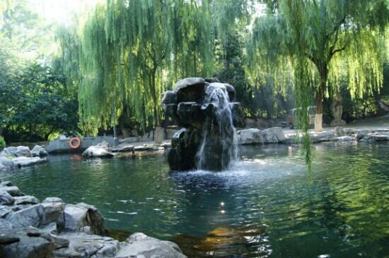 Wulongtan Park: 月牙飞瀑