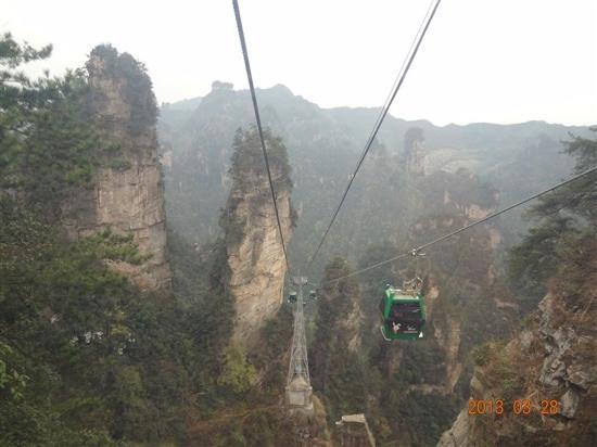 The Grand Canyon of Zhangjiajie: 张家界大峡谷