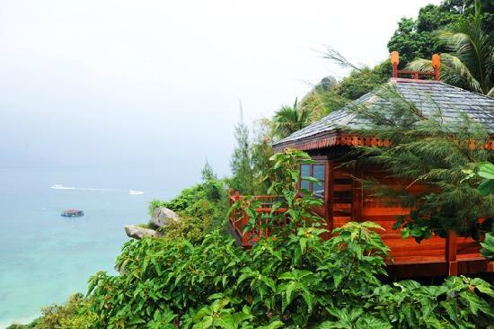 Fenjiezhou Island : 山上木屋
