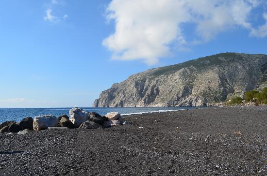 Santorini Waterpark: Beach