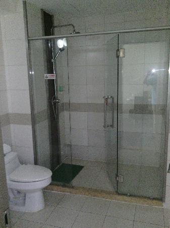 Motel 168 Beijing Xibianmen: 淋浴间