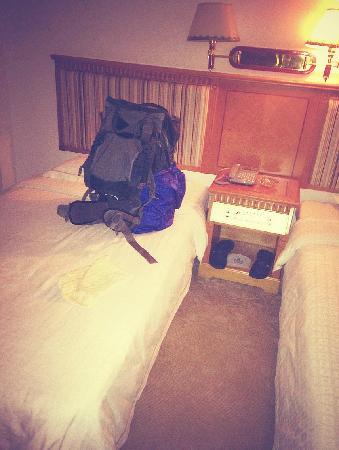 Nan Hua Hotel: 床铺