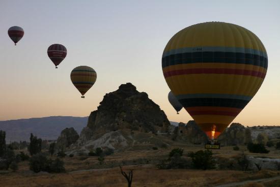 fire - Picture of Urgup Hot Air Balloons, Goreme - TripAdvisor