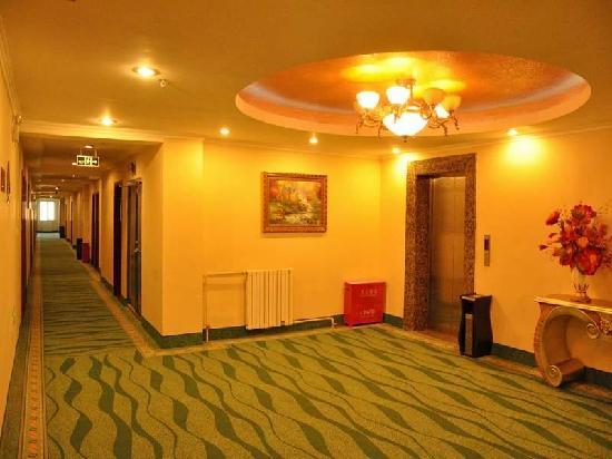 GreenTree Inn Beijing Changping Shahe Metro station Express Hotel : 走廊
