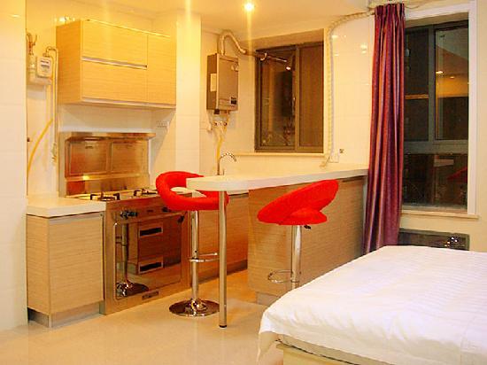 Innjoy Apartment: InnJoy度假公寓 精品大床