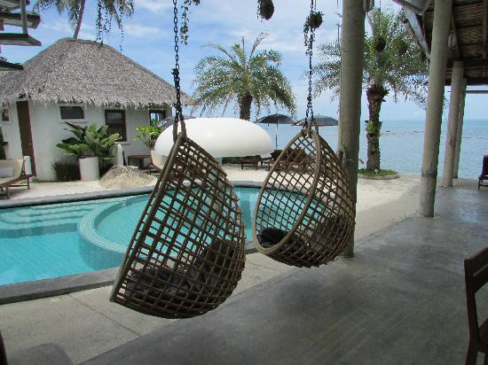 Lazy Day's Samui Beach Resort: 吊椅