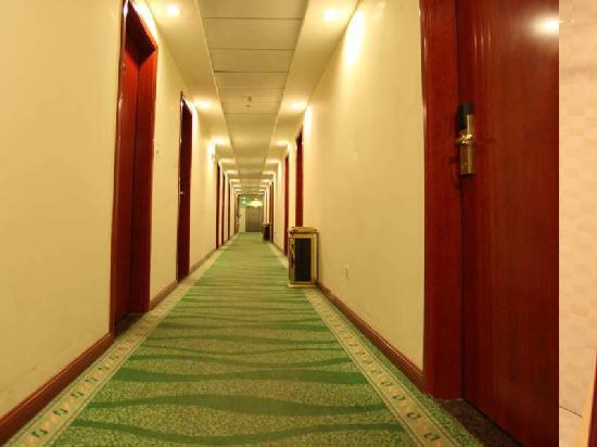 GreenTree Inn Gansu Tianshui Lantian City Square Express Hotel: 走廊