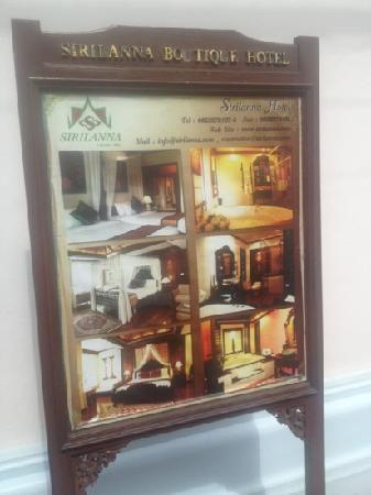 Sirilanna Hotel : siri