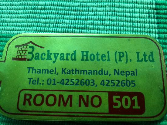 OYO 11477 Backyard Hotel: we  live in this room