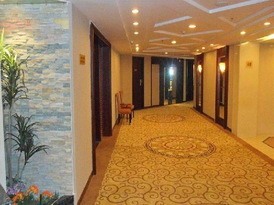 Green Tree Inn Shantou Xiashan Yuelai Hotel: 走廊