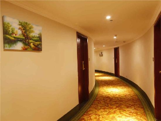 GreenTree Inn Shantou Jinhu Road Business Hotel: 走廊
