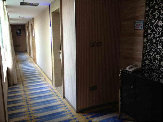 GreenTree Alliance Shenzhen Shekou Haishang Shijie Hotel: 走廊