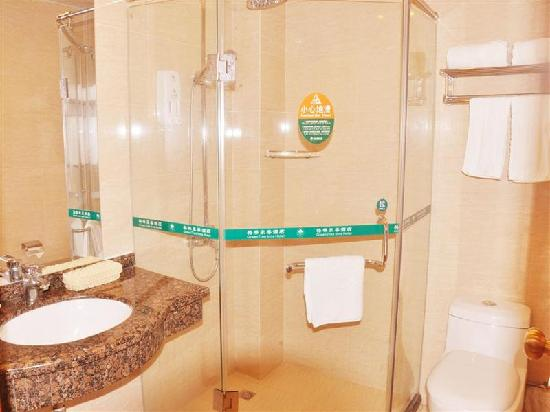 GreenTree Inn Shenzhen Zhongying Street : 浴室