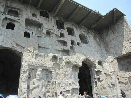Shiquan County, China: 石窟
