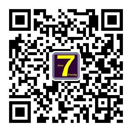 7 Day Family Apartment : 河池7天公寓微信公众平台二维码
