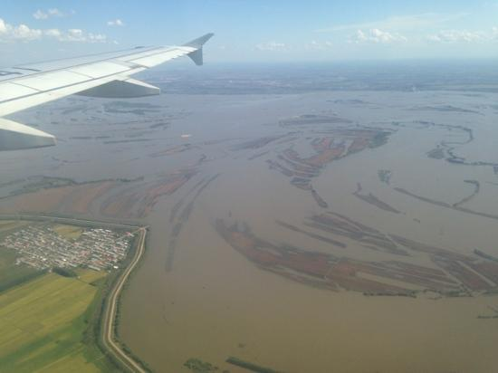 Songhua River: 洪水中的汪洋