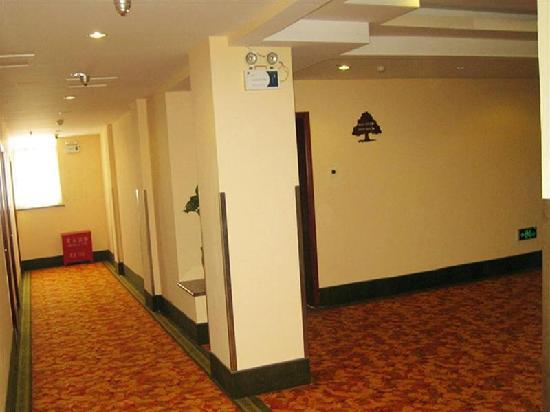 GreenTree Inn Handan Renmin Road : 走廊