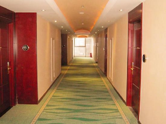 GreenTree Inn Qian'an Caifu Center Business Hotel: 走廊