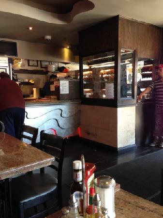 El Malecon Restaurant: kitchen. chicken