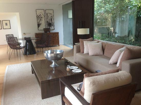 Kayumanis Nanjing Private Villa & Spa: 客厅