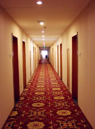 Qufu Ying Hotel: 走廊