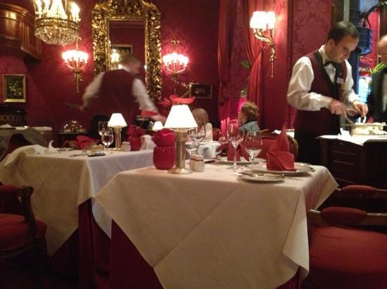 Hotel Sacher Wien: sacher的餐厅