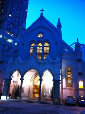 The Hong Kong Catholic Cathedral of The Immaculate Conception : 圣母无原罪教堂