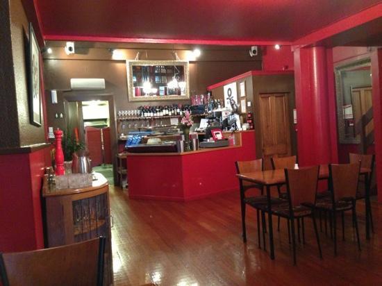Bella's Cafe : 吧台
