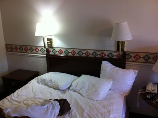 North Temple Inn: room
