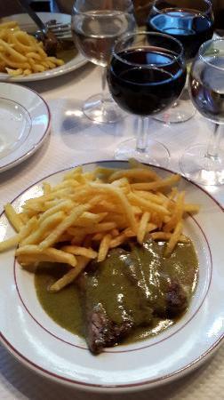 Le Relais De L'Entrecote : beef