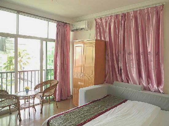 Merry Inn Sanya : 浪漫情侣房