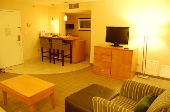 Holiday Inn Hotel & Suites Alexandria - Old Town: 房间客厅
