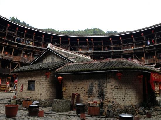 Yuchang Building: 楼内景观