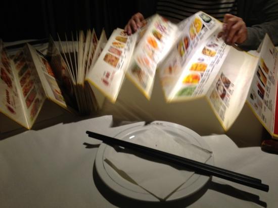 BeiJing XiaoWangFu (GuangHua Road): 奏折菜单