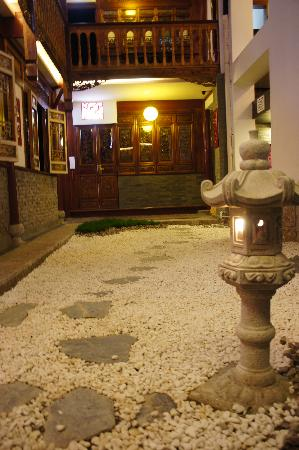 Lantaiyuan Boutique Inn: 枯山水的院子