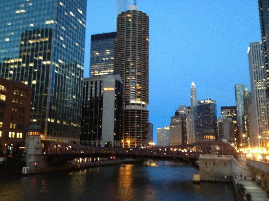 The Westin Chicago River North Hotel Looks Grand In Evening Time