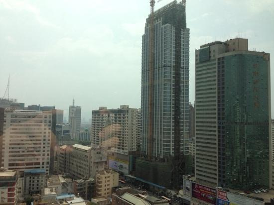 Horizon Hotel Yunnan : 房间窗外