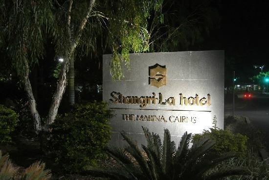 Shangri-La Hotel, The Marina, Cairns: zhaopai