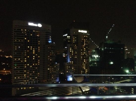 อลอฟต์ กัวลาลัมเปอร์ เซนทรัล: 楼顶泳池景色