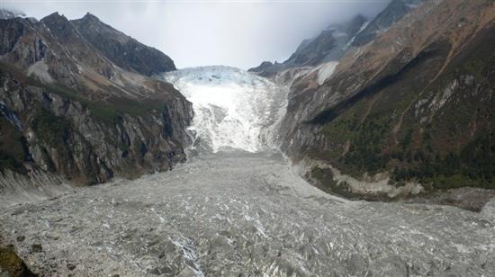Dagu Glacier : 达古冰川