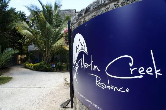 Marlin Creek : 酒店大门