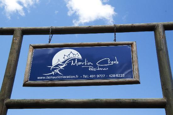 Marlin Creek : 酒店招牌