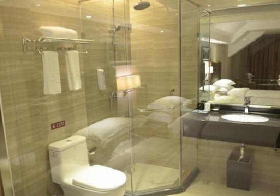 Anyi Xianting Hotel: 卫生间